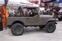 Jeep Wrangler, klolor wojskowy