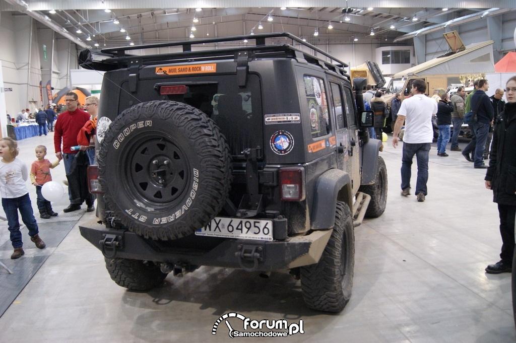 Jeep Wrangler Unlimited, tył