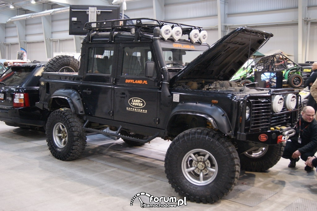 Land Rover Defender, offroad