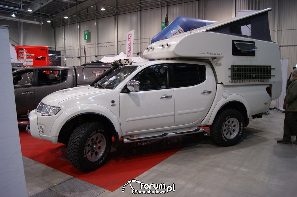 Mitsubishi L200 Expedition Camper