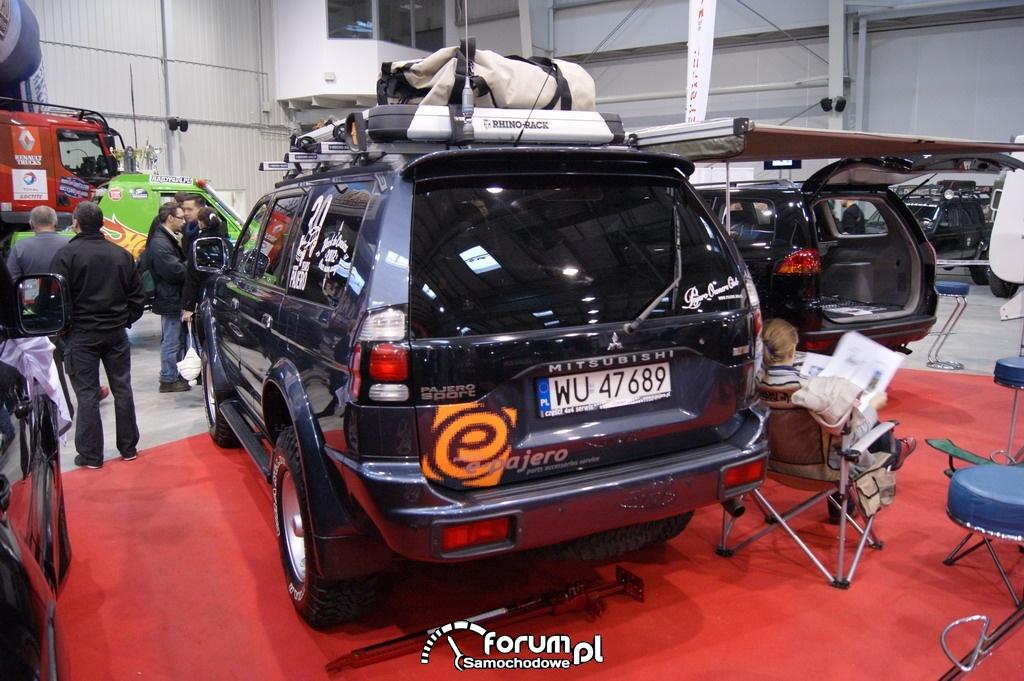 Mitsubishi Pajero Sport, tył