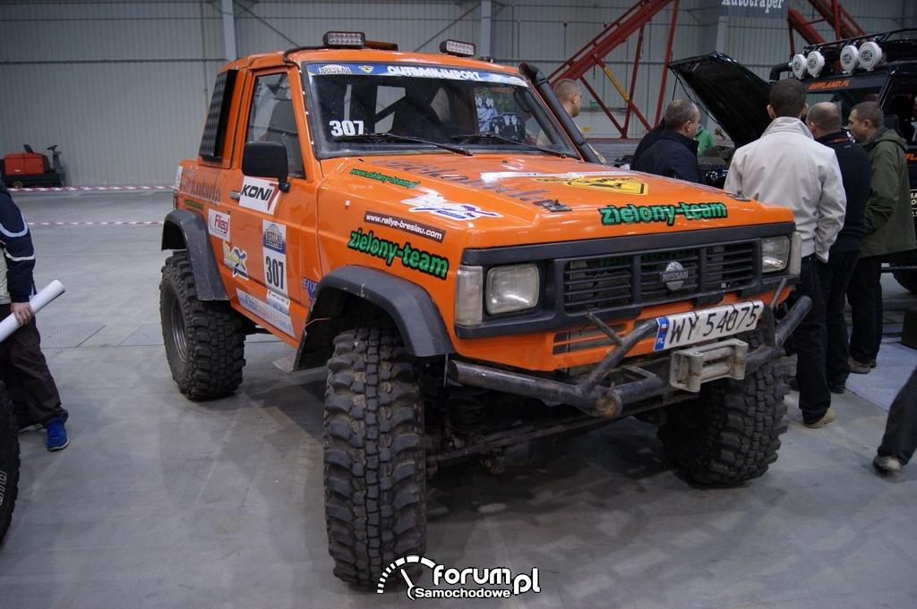 Nissan Patrol GR Y60, Zielony Team, 4