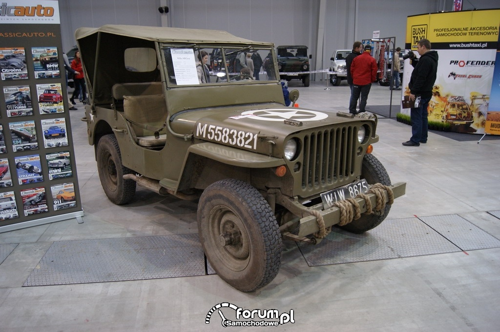 Willys MB Jeep, 1943
