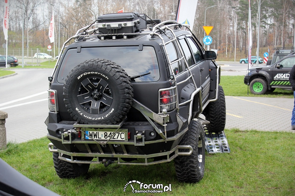 Jeep Interceptor, tył