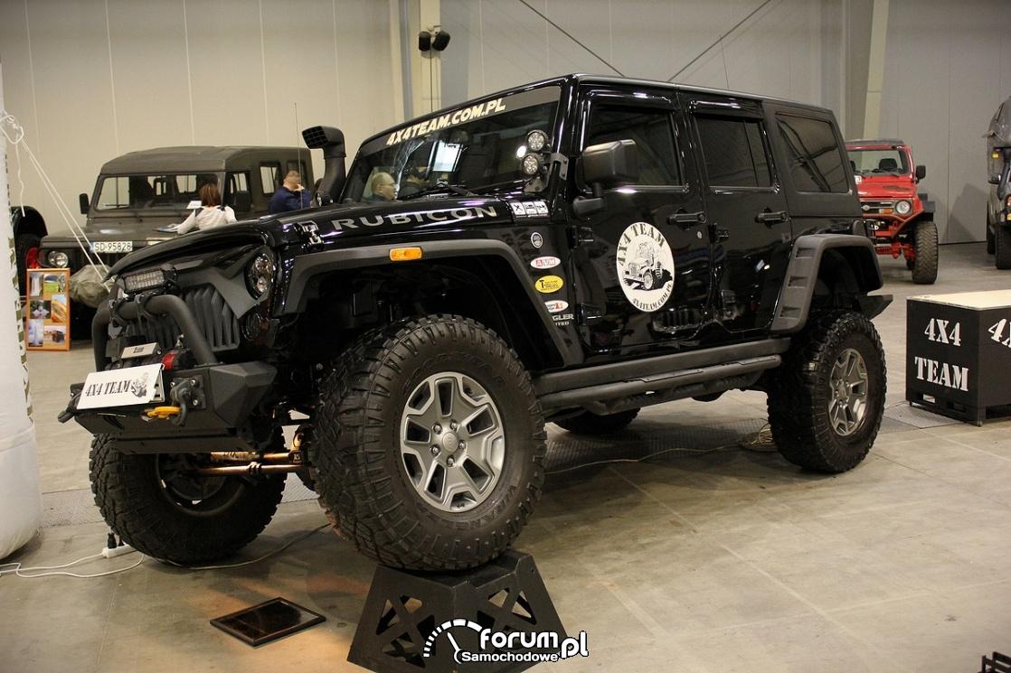 Jeep Rubicon, wykrzyż