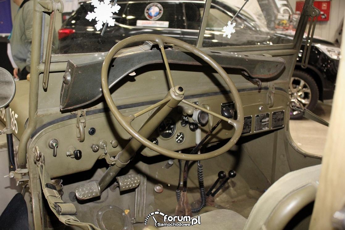 Jeep Willys, kierownica