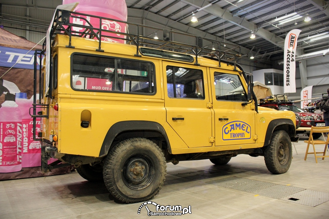 Land Rover Defender, Camel Trophy