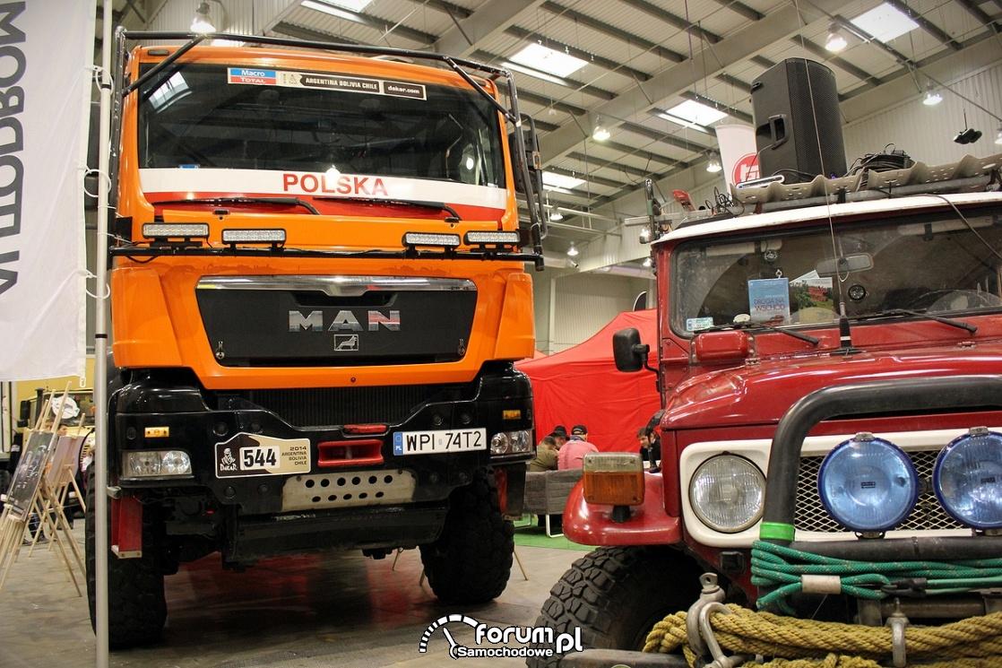 Man, ciężarówka na rajd Dakar