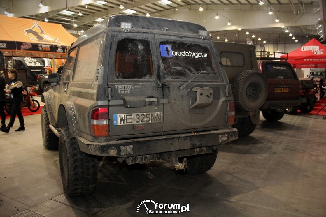 Nissan Patrol 4x4 GR, tył