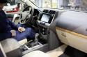 Toyota Land Cruiser, 2017, wnętrze, 2
