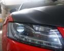 Audi Czerwony kolor + Carbon 3M
