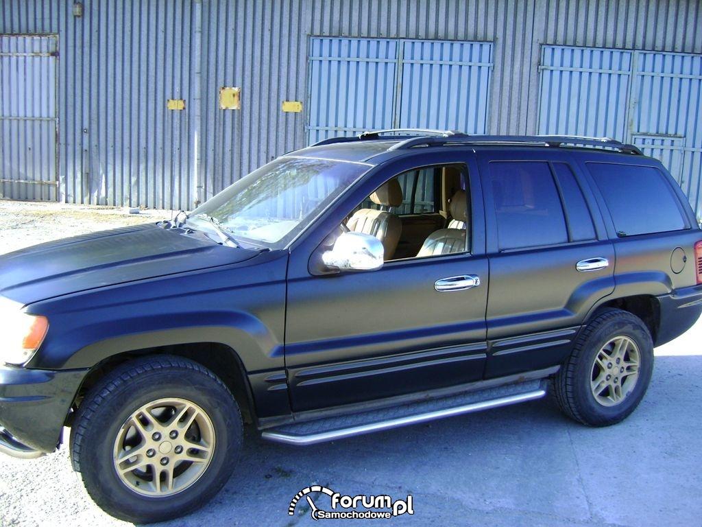 Jeep Grand Cherokee CZARNY MAT - ZMIANA KOLORU