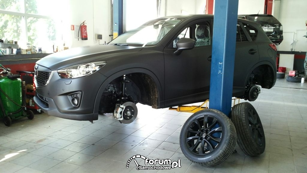 Zmiana koloru Mazda CX 5 czarny mat