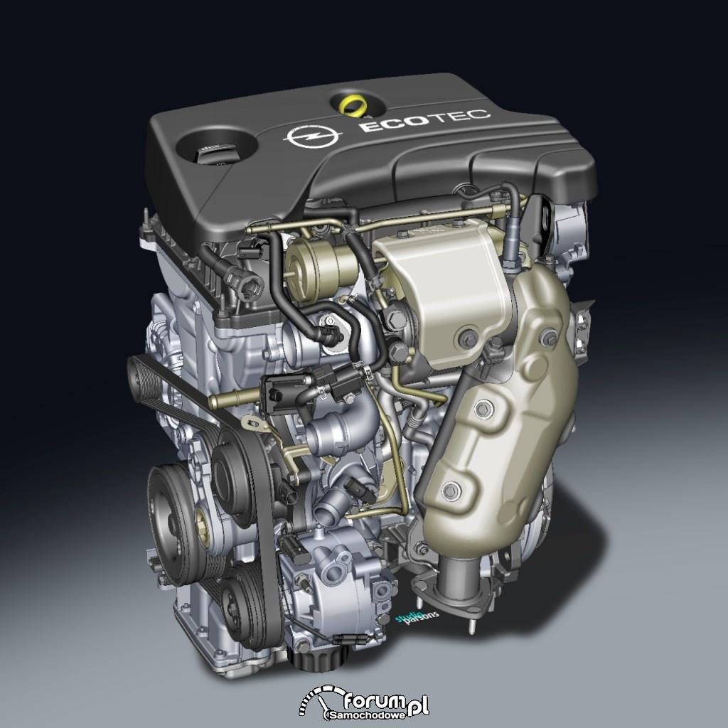 1.0 SIDI Turbo nowy trzycylindrowy silnik Opla