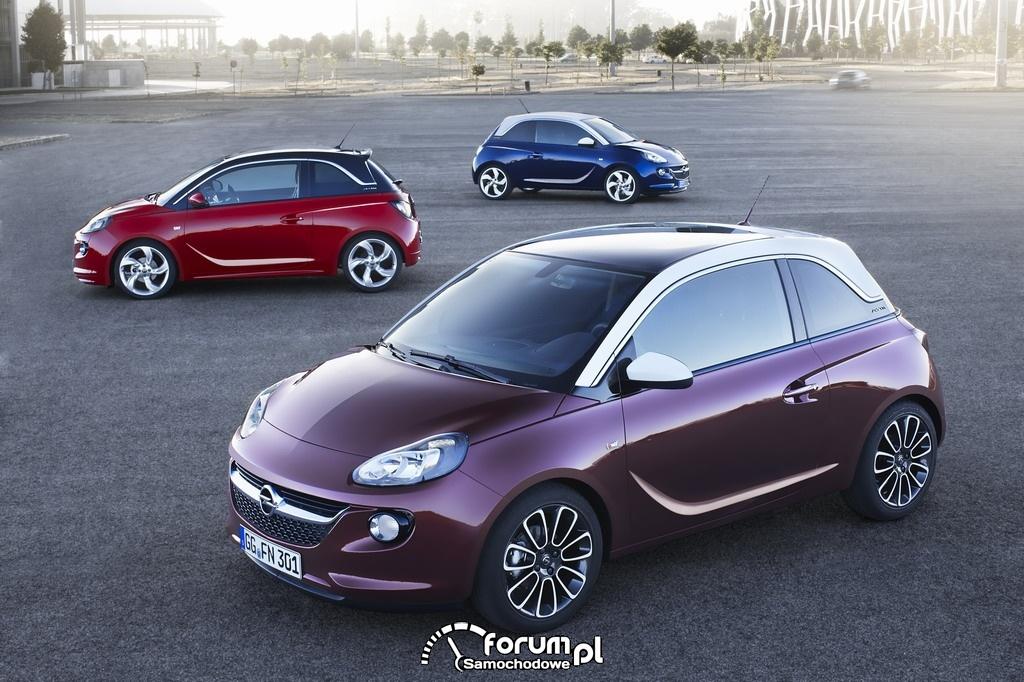 Niepowtarzalny Opel ADAM w modnym segmencie A
