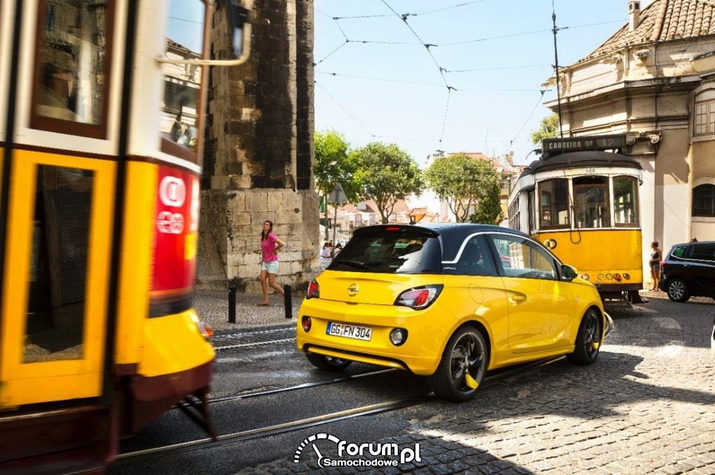 Opel ADAM SLAM z pakietem OPC, tył