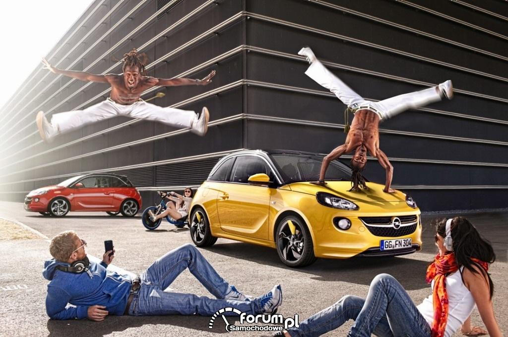 Opel ADAM szykowny miejski samochód