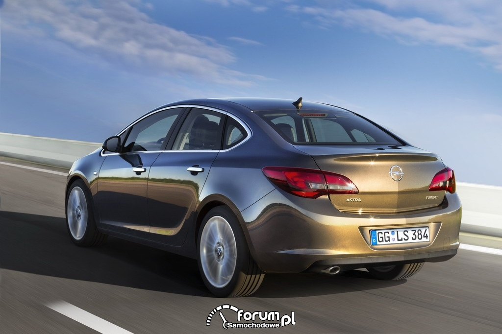 Opel Astra line-up, Turbo