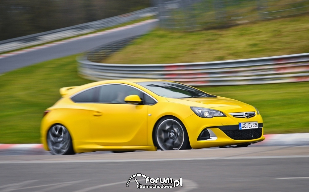 Opel Astra OPC Chassis