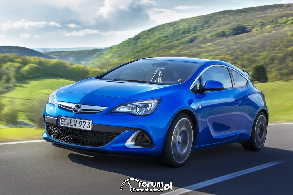 Opel Astra OPC, przód, 2