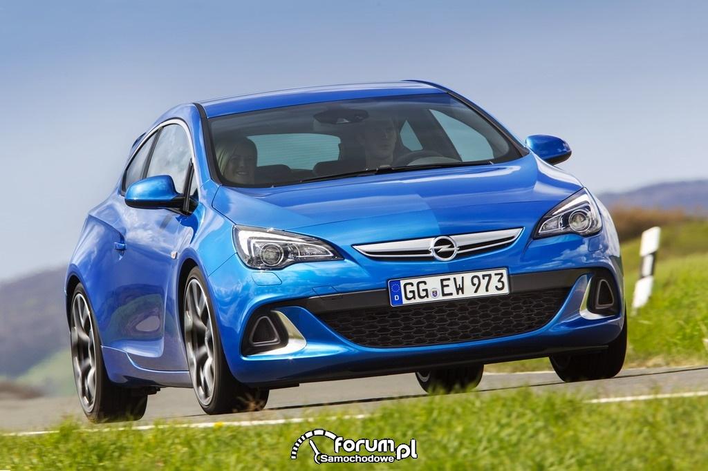Opel Astra OPC - najmocniejsza Astra w historii