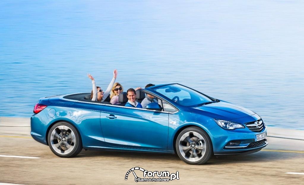 Opel Cascada - efektowny kabriolet na każdą pogodę