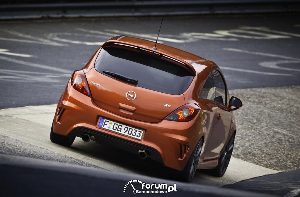 Opel Corsa OPC, tył