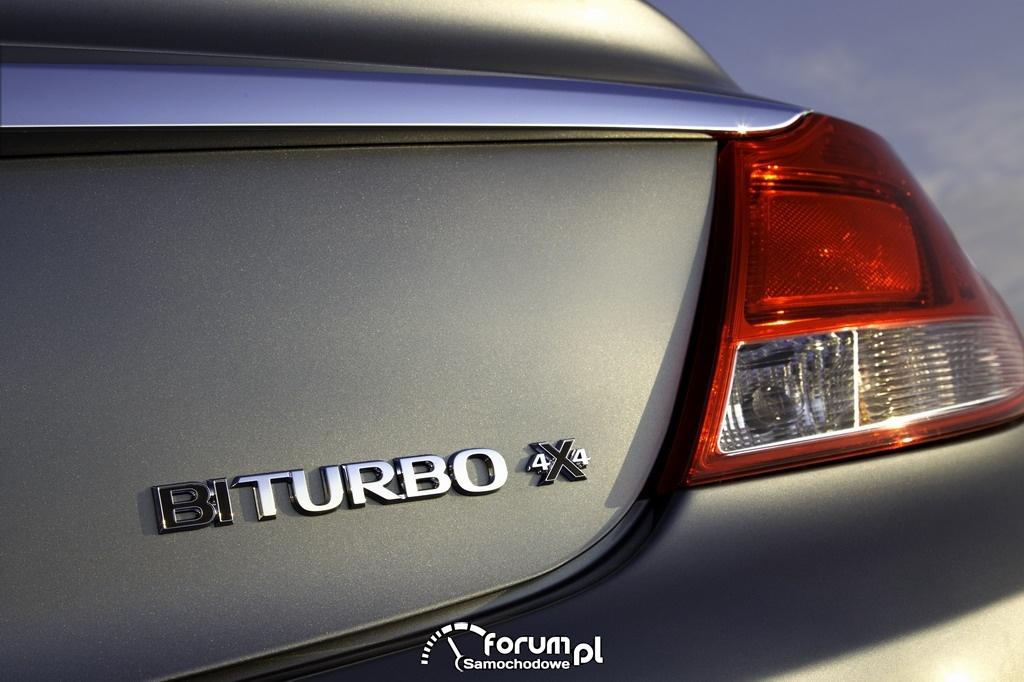 Opel Insignia, BiTurbo 4x4