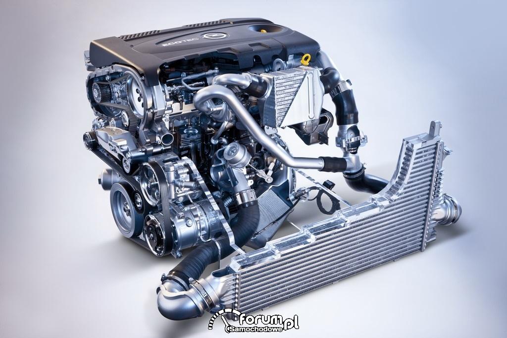 Opel Insignia, silnik 2.0 BiTurbo CDTI