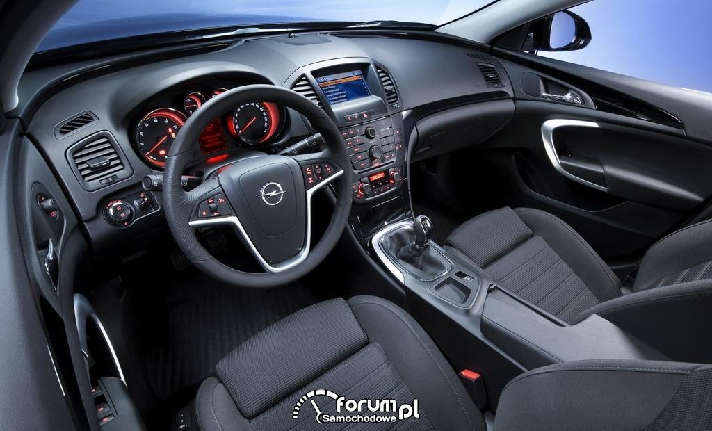Opel Insignia, wnętrze