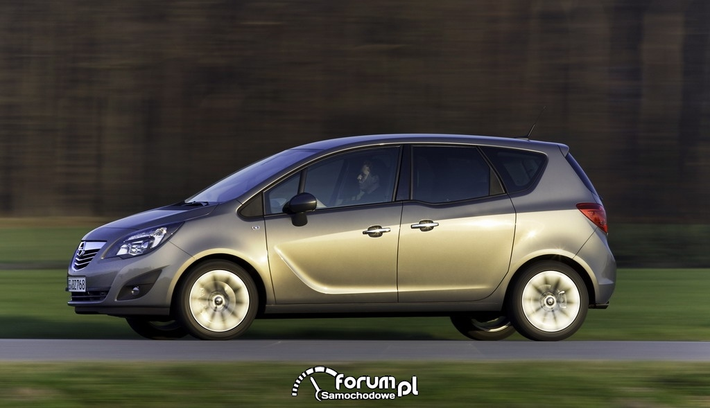 Opel Meriva 1.4 liter LPG Turbo ecoFLEX zdjęcie : Galeria Opel