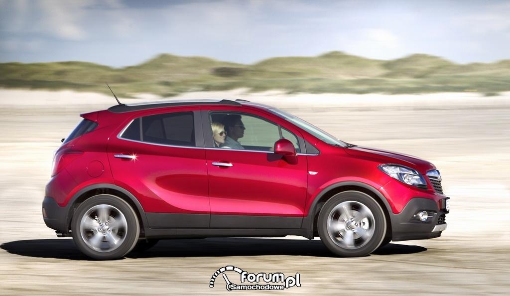 Opel Mokka Turbo, bok