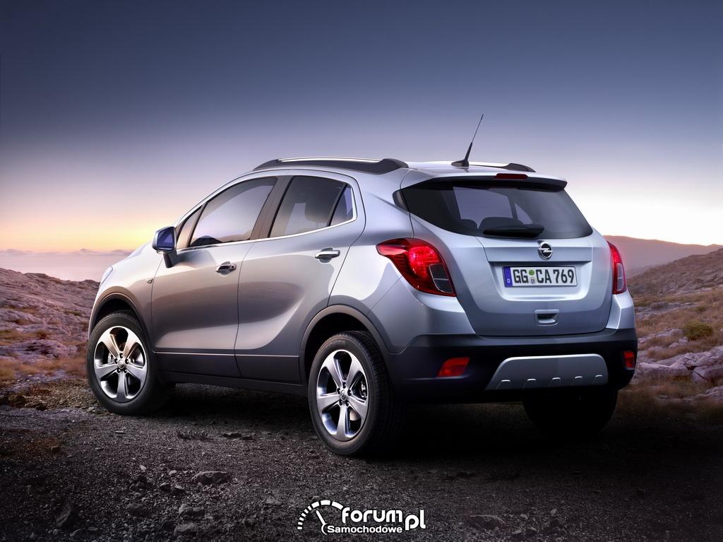 Opel Mokka crossover produkowany będzie w Europie