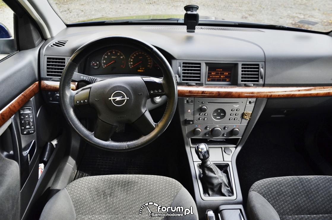 Opel Vectra C, przed liftem, wnętrze