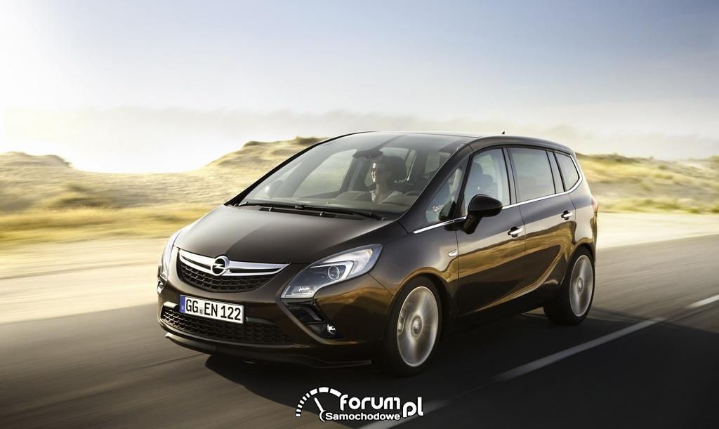 Opel Zafira Tourer, przód