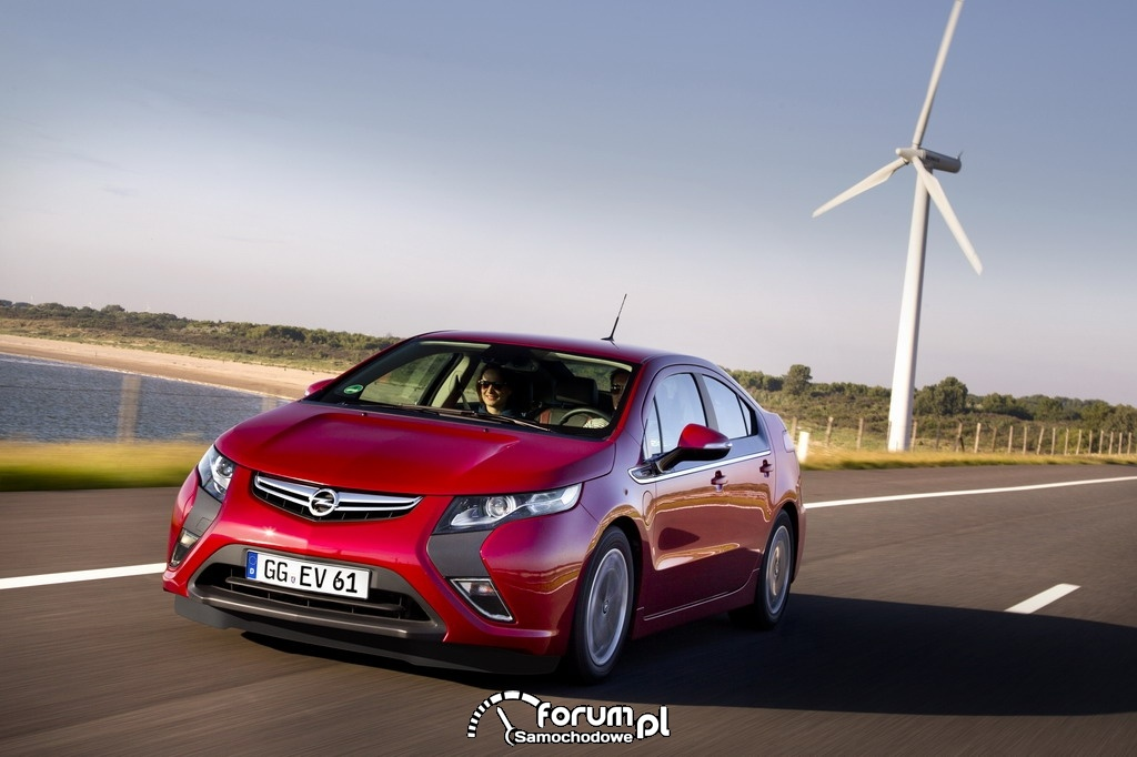 Samochód elektryczny Opel Ampera