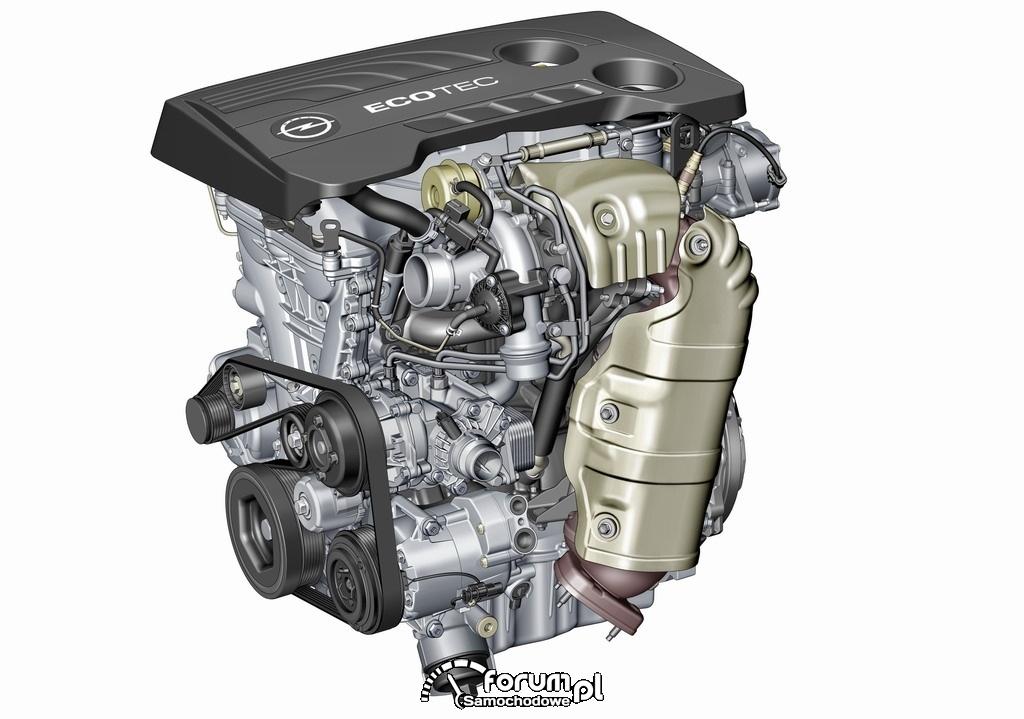 Nowy silnik benzynowy 1.6 SIDI Turbo - Opel