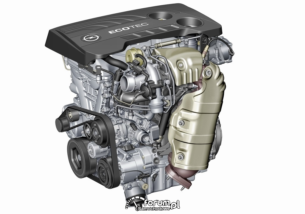 Silnik SIDI ECOTEC 1.6 Turbo z systemem Start & Stop