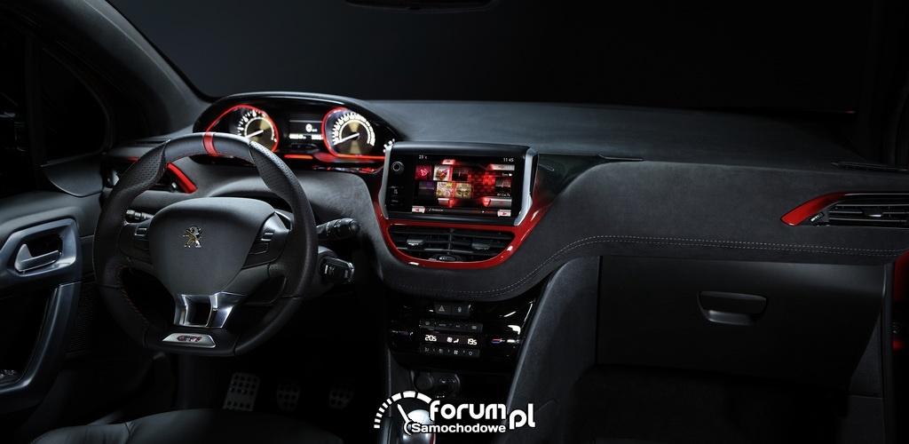 Peugeot 208 GTi, wnętrze