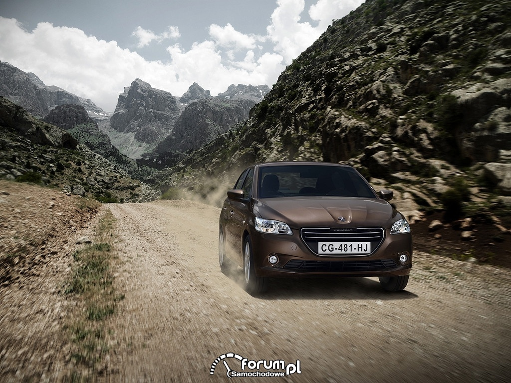 Peugeot 301, przód, montowany w Kazachstanie