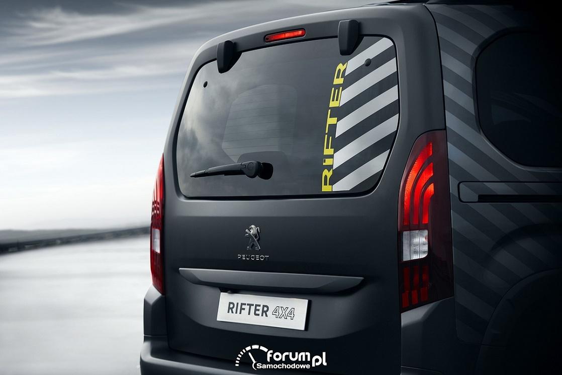 Peugeot RIFTER 4X4, tył