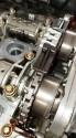 Silnik CGI Mercedes W210,przebieg 200 tyś km.olej Shell Helix Ultra 5W40