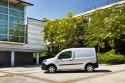Renault Kangoo ZE, elektryczny samochód dostawczy, bok