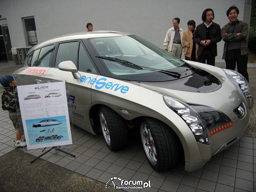 Ekektryczny samochód Eliica