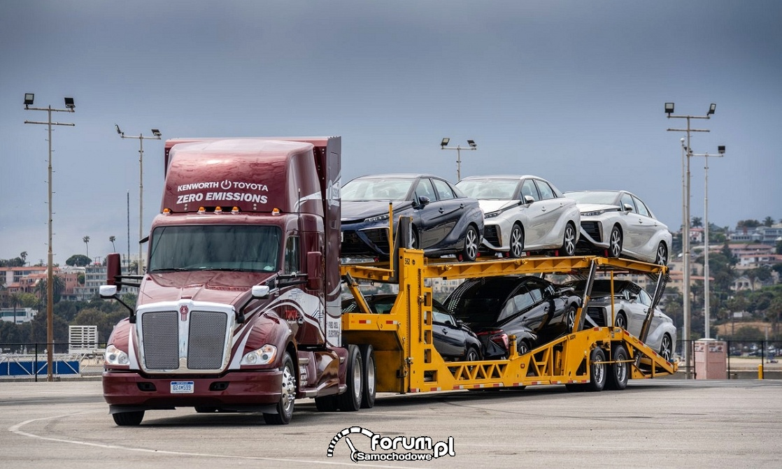 Kenworth zero emissions, Fuel Cell Electric