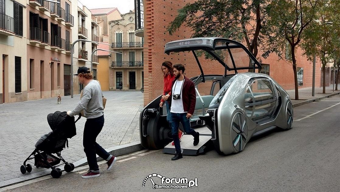 Renault EZ-GO, przód