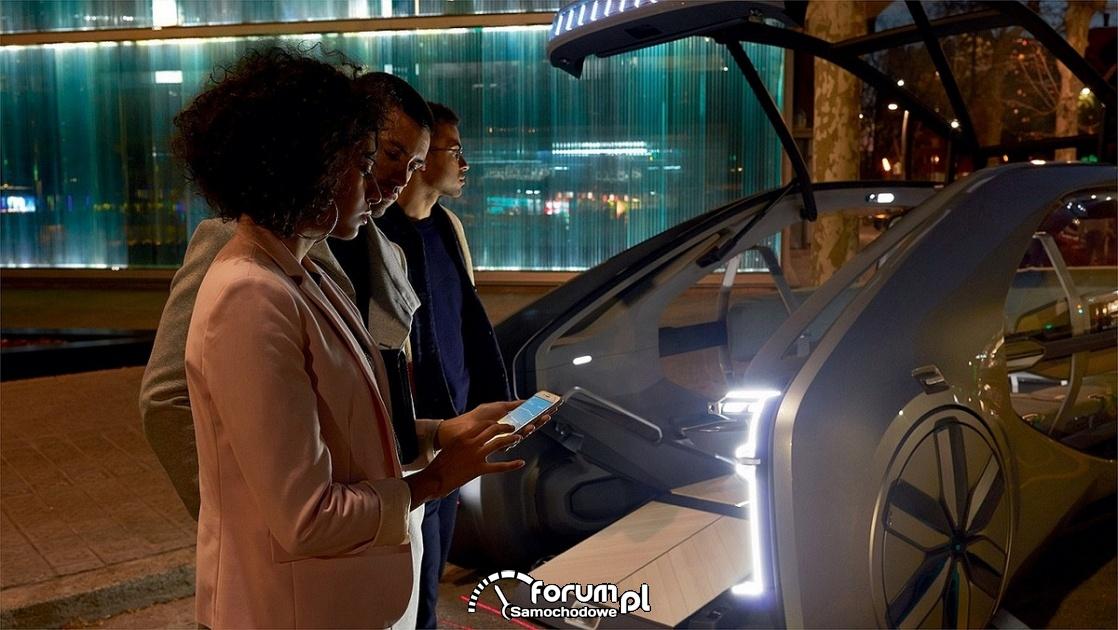 Renault EZ-GO, sterowanie aplikacją