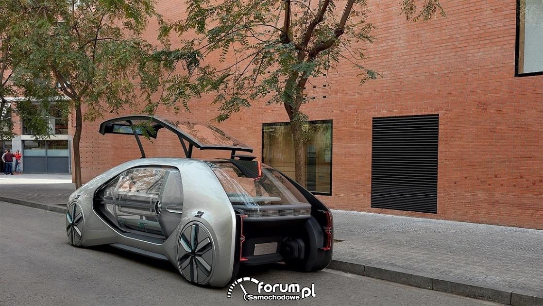 Renault EZ-GO, tył