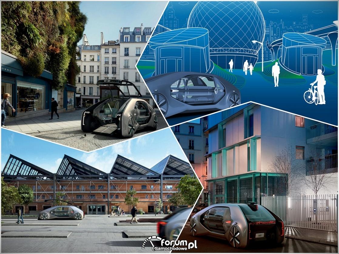 Renault EZ-GO, wzpółczesne miasto