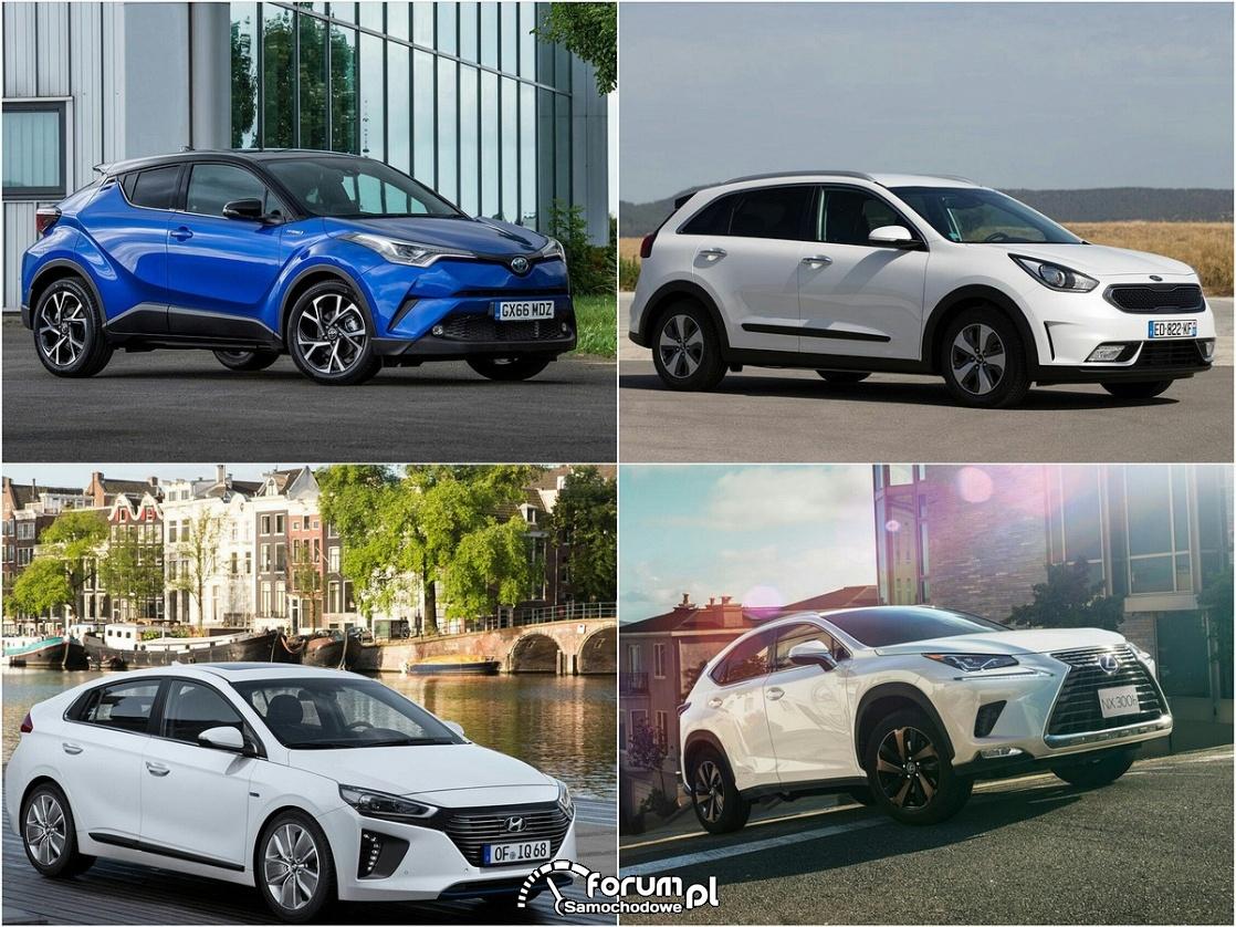 Samochody hybrydowe 2017